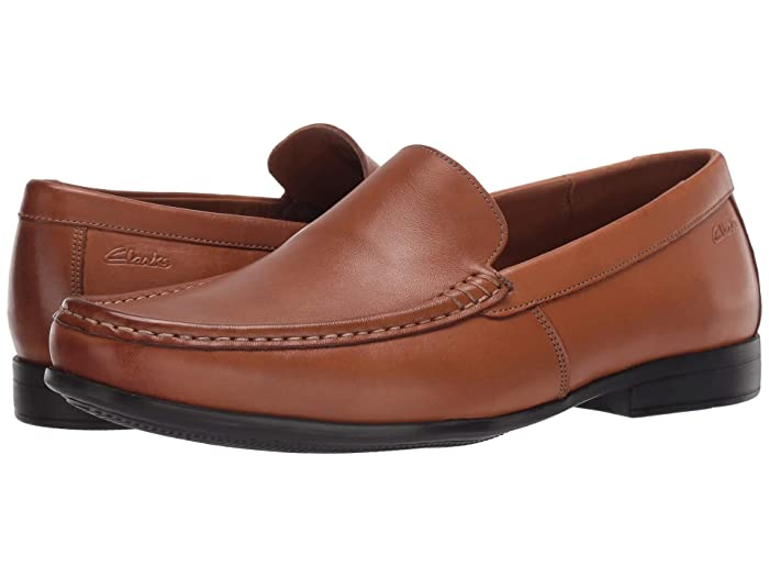 Mens Retro Shoes | Vintage Shoes & Boots Clarks Claude Plain Tan Mens Shoes $67.98 AT vintagedancer.com