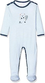 Schiesser Baby-Jungen Anzug mit Fuß Zweiteiliger Schlafanzug