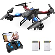 SNAPTAIN S5C WiFi FPV Drone with 720P HD Camera, Voice Control, Gesture Control RC Quadcopter for...