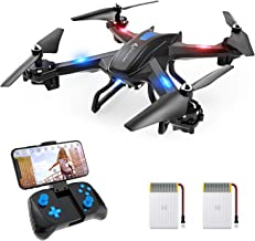 SNAPTAIN S5C WiFi FPV Drone with 720P HD Camera,Voice Control, Wide-Angle Live Video RC..