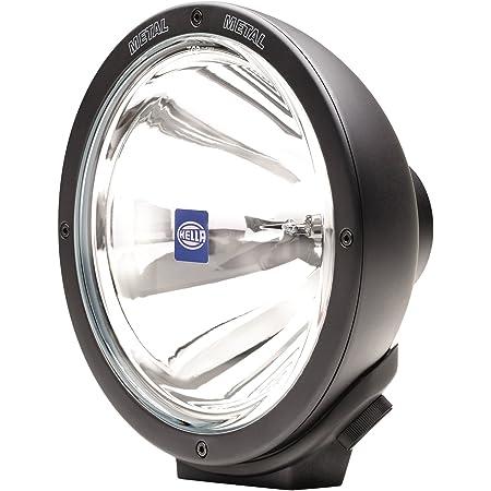 HELLA H12560061 Rallye 4000 Series 12V/100W Black Pencil Beam Halogen Lamp