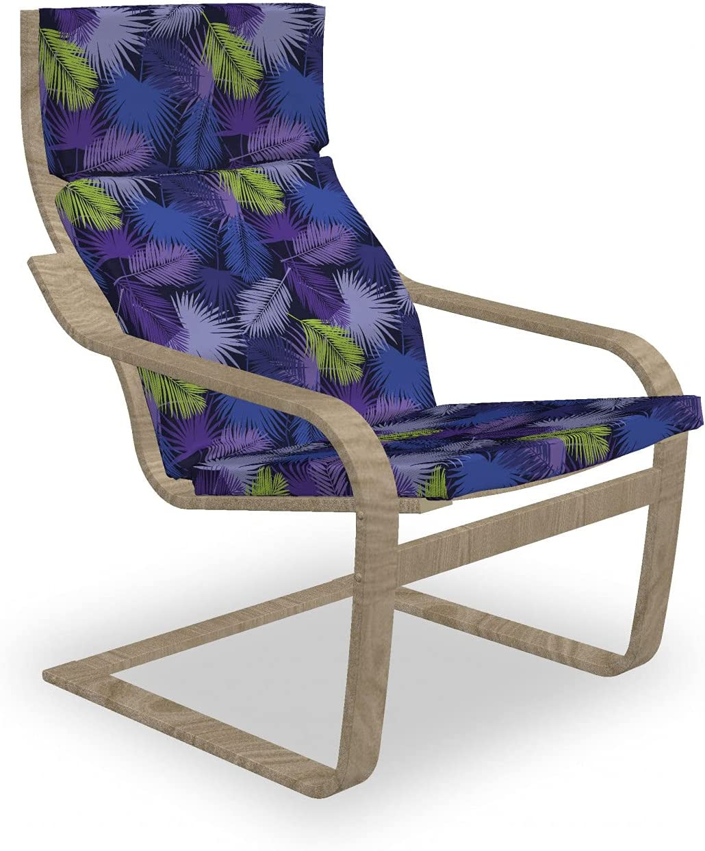 Ambesonne Exotic Armchair Pad and discount Palm Tropical Slipcover Areca Weekly update