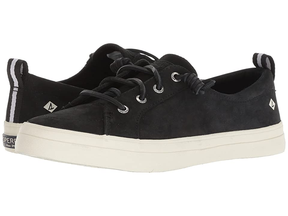 Sperry Crest Vibe Washable Leather (Black) Women
