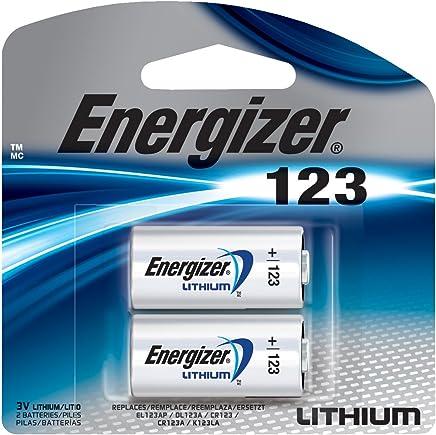 Energizer El123apb-2 3 Volt Lithium Photo Battery, 0.32 Ounce