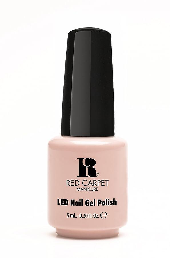 実質的慣れている彫るRed Carpet Manicure - LED Nail Gel Polish - Creme de la Creme - 0.3oz / 9ml