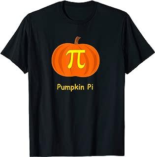 Pumpkin Pi Halloween math geek design T-Shirt
