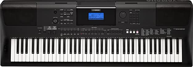 Yamaha PSREW400 76-Key Portable Keyboard with Power Adapter