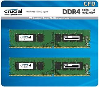 CFD販売 デスクトップPC用メモリ PC4-21300(DDR4-2666) 16GB×2枚 288pin (無期限保証)(Crucial by Micron) W4U2666CM-16G