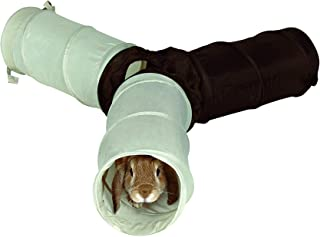 TRIXIE Túnel Juego para Conejos, 3 xø18 x 47 cm, Color Surtido, Pequeños Mamíferos