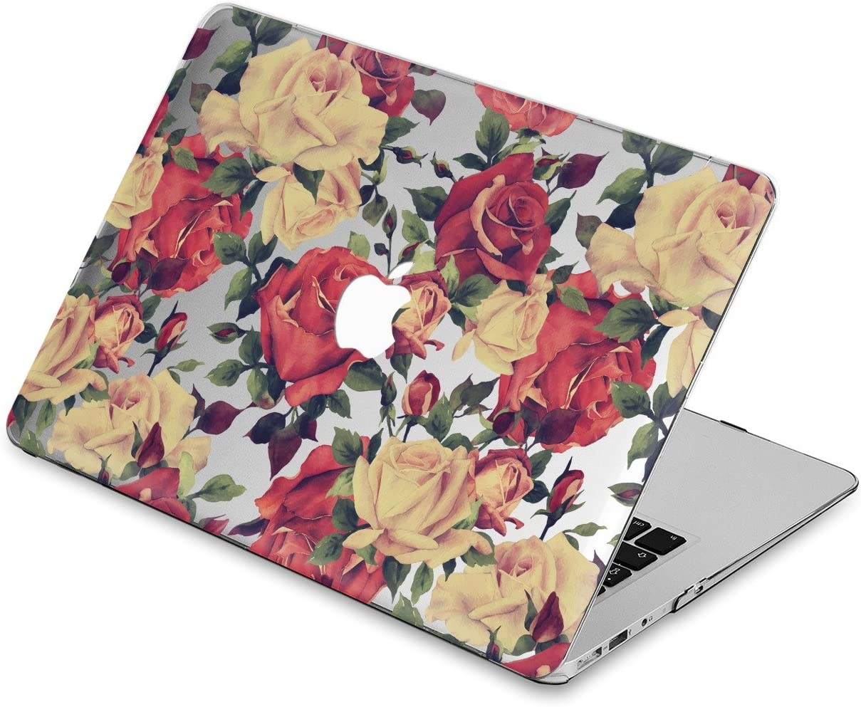A1369 /& A1466 Air 13 Durable Laptop Case Art Designed Protective Cover for MacBook Laptop Modern Hard Case , Pale Marble