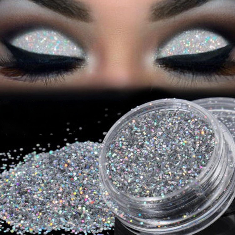 オートラッチ慣性2018新番 化粧品 アイシャドウ Timsa 欧米風 アイシャドーパウダー ダイヤモンドグリッター スパークリングアイズ 極め細い パウダーアイシャドウ 2色選択 (A)