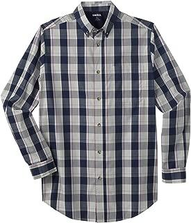 KingSize Men's Big & Tall Tall Wrinkle Resistant Long-Sleeve Sport Shirt