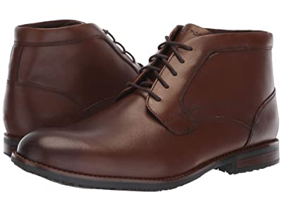 Rockport Dustyn Waterproof Chukka (New Caramel) Men