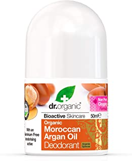 Dr. Organic roll-on deodorant Maroccan Argan oil, 50 ml. -