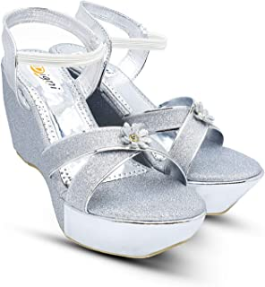 Digni Sandals for Women Cross Straps Wedge Sandals Platform Buckle Shoes Formentera Soft and Stable for Walking