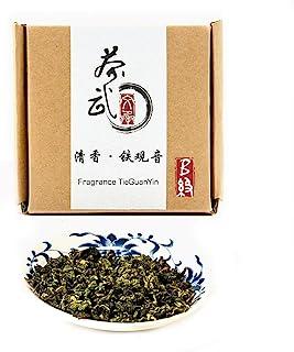Cha Wu-[B] Fragrant TieGuanYin Oolong Tea,3.5oz/100g,WuLong Tea Loose Leaf Wu Long,Origin of AnXi,FuJian,Chinese