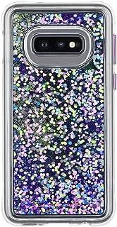 Case-Mate - Waterfall - Samsung Galaxy S10e - Liquid Glitter Case - Purple Glow