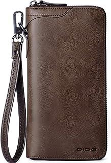 【Amazon限定ブランド】財布 メンズ 長財布 人気 本革 カード 大容量 ラウンドファスナー 父の日のプレゼント