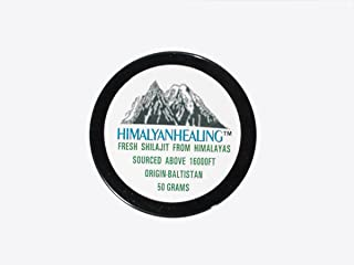 50 Grams of Pure Himalayan Shilajit - 100% natural Detox - Directly from it's Origin - Himalaya