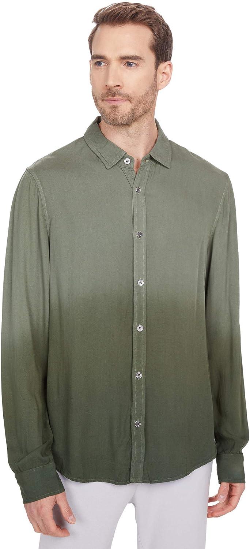 Mod-O-Doc Long Sleeve Button-Down Hombre Shirt