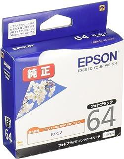 エプソン 純正 インクカートリッジ 桜 ICBK64 フォトブラック
