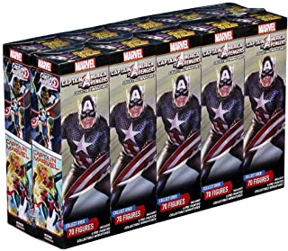 WizKids Marvel HeroClix Captain America and The Avengers Brick