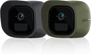 Arlo Accessory - Skins | Set of 2 – Black & Green | Compatible with Arlo Go only| (VMA4220K)