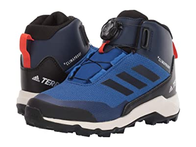 adidas Outdoor Kids Terrex Winter Mid Boa (Little Kid/Big Kid) (Collegiate Royal/Black/Collegiate Navy) Boys Shoes