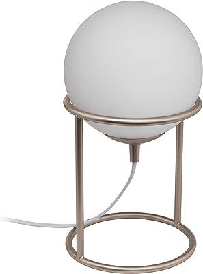 EGLO CASTELLATO 1 Lámpara de mesa, 28 W, champán