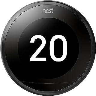 Nest Learning - Termostato Inteligente de 3 A Generación, Negro