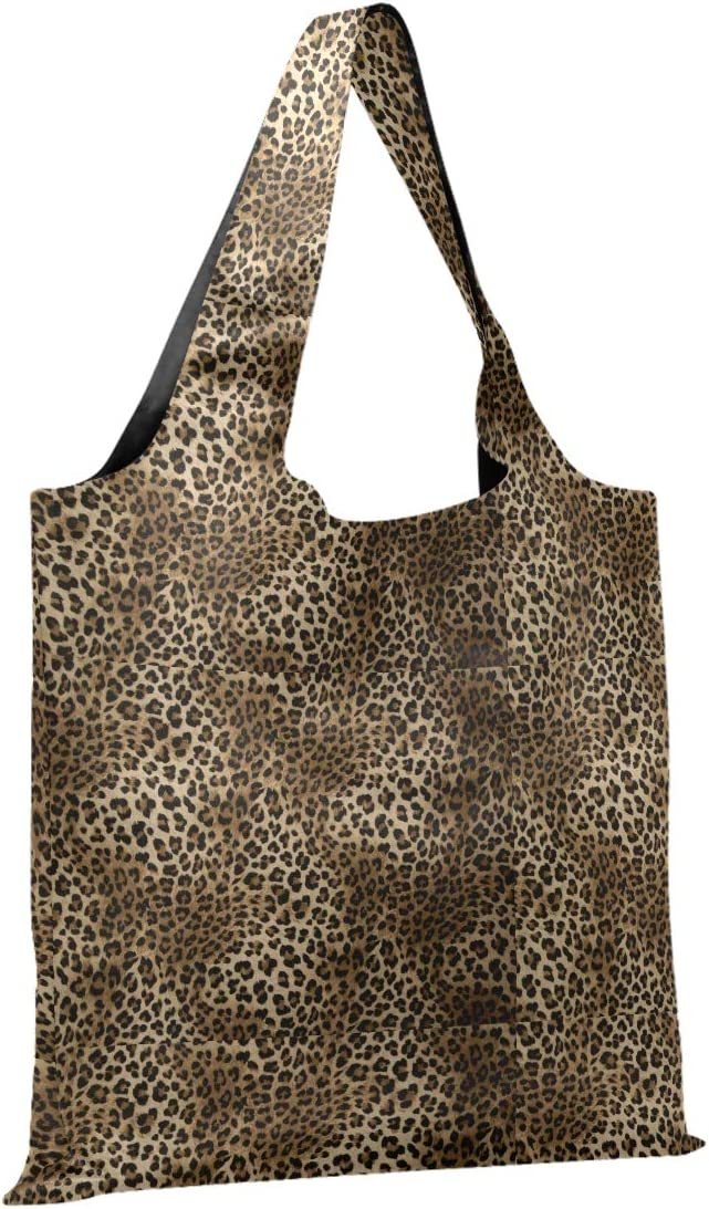 CaTaKu Animal Tiger Print Shopping Bags Bag Leopard Fold Grocery Jacksonville In stock Mall