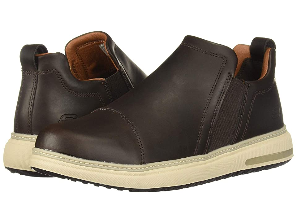SKECHERS Folten Orego (Chocolate) Men