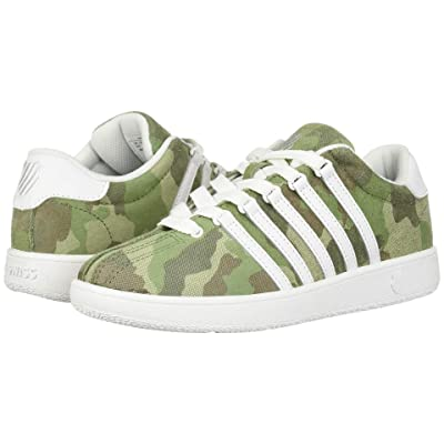 K-Swiss Classic VN (Big Kid) (Camo/White) Athletic Shoes