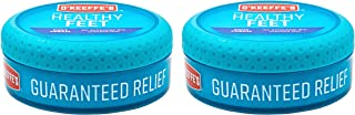 O'Keeffe's Healthy Feet Foot Cream, 3.2 ounce Jar, (Pack of 2), Blue (K0320016)