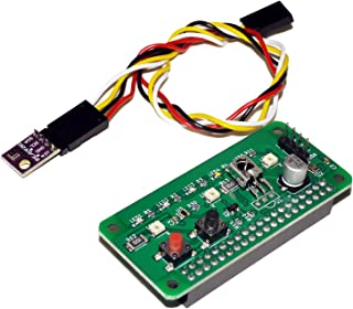 RPZ-IR-Sensor Rev2.0 (端子実装済 + 外付センサーセット) - Raspberry Pi用 温度/湿度/気圧/明るさ/赤外線 ホームIoT拡張ボード