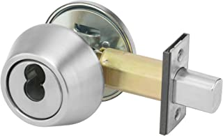 Yale D292 x 613 E 200 Series Deadbolt 2 3//4 Backset Occupancy Indicator x Thumbturn 613E Dark Satin Bronze