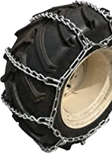 TireChain.com 20 X 10 X 8, 20 10 8 Heavy Duty Tractor Tire Chains Set of 2