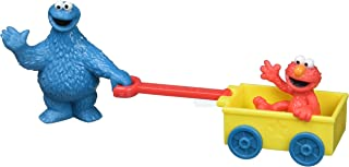 """Decopac Sesame Street Let's Play DecoSet Cake Decoration Topper Elmo Cookie Monster, 3"""", count of 2"""