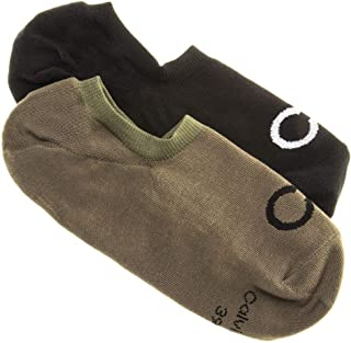 Calvin Klein Mens Sneaker Liner Casual Socks Multi