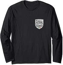Dolomites Mountain Italy Emblem Long Sleeve T-Shirt