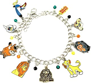 Athena Brand Lion King Charm Bracelet Premium Quality Cosplay Jewelry Comics Cartoons Movie Series with Gift Box