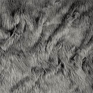 Shannon Faux Fur Luxury Shag Grey