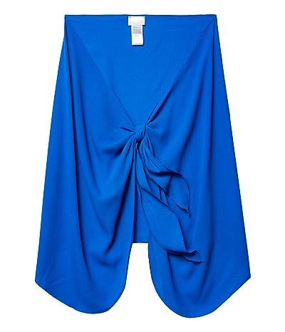 DOTTI Summer Short Sarong Pareo Cover-Up (Royal) Women