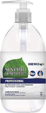 Seventh Generation *七世代 专业洗手液,无香味,12 液体盎司(8 瓶装)