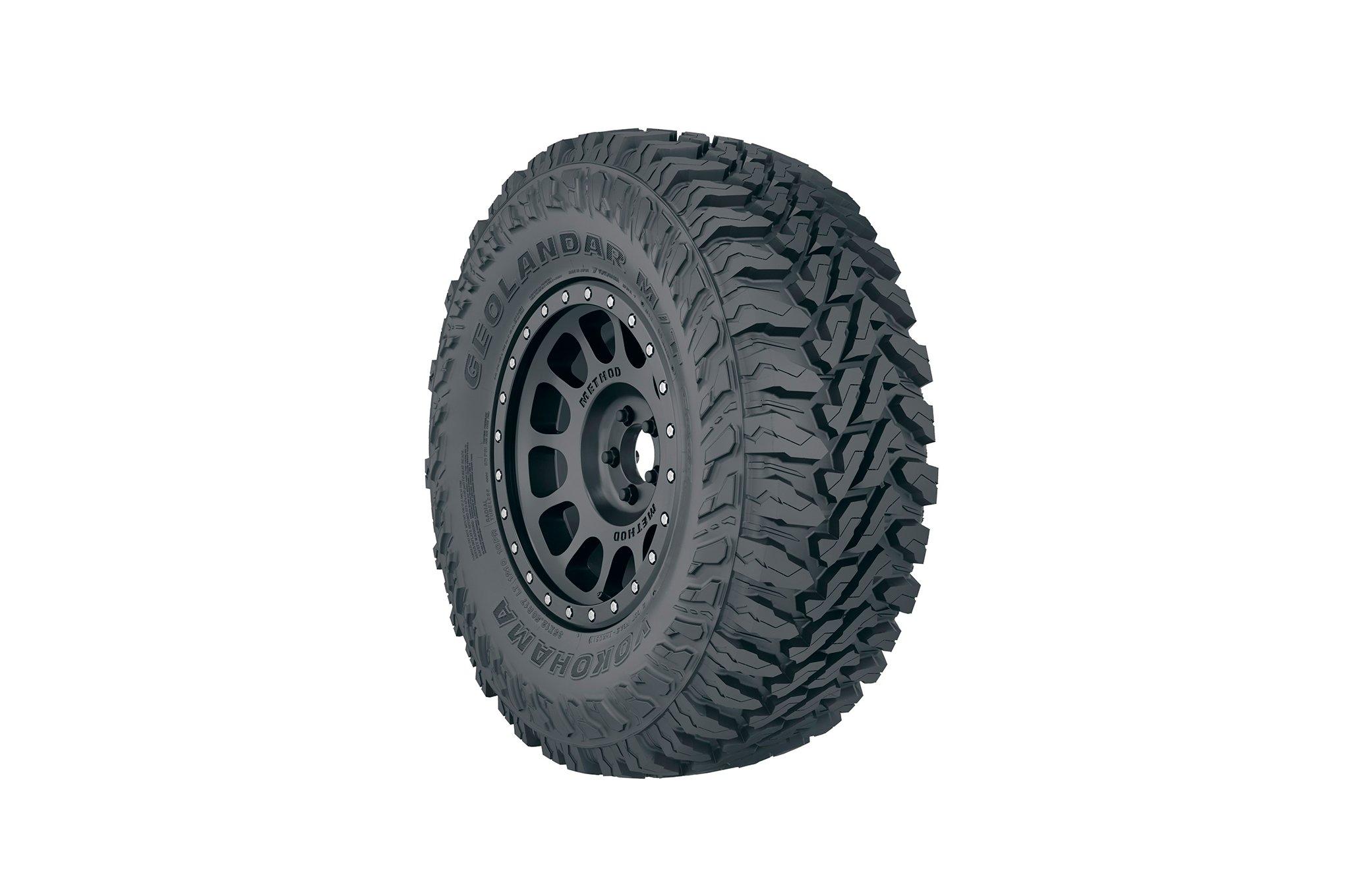 Yokohama Geolandar M//T G003 all/_ Season Radial Tire-LT265//75R16 123Q 10-ply