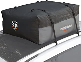 Rightline Gear Sport Jr Car Top Carrier, 9 cu ft Sized for Compact Cars, 100% Waterproof, Attaches With or Without Roof Rack
