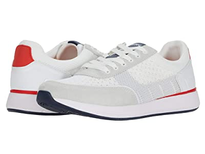 SWIMS Breeze Wave Athletic (White/Navy/Glacier Gray) Men