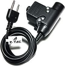 Z Tactical Z113 Element EX113 Wargame Outdoor Gear U94 Headset PTT for ICOM 2 Pin Radio