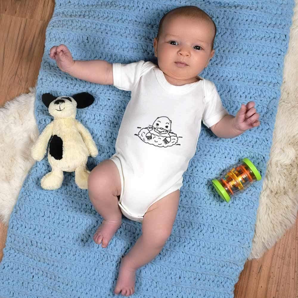 Azeeda 18-24 Month Digging Mole Baby Grow Bodysuit GR00041766