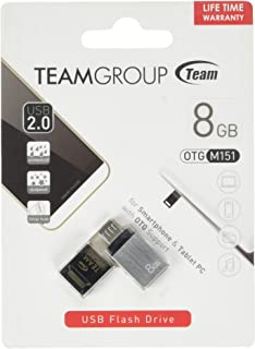 Teamgroup TM1518GC01 M151 Water Proof USB Flash Drive - 8GB- Black (Pack of1)